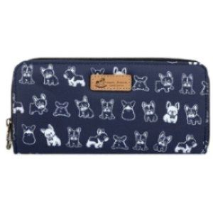 Waterproof Frenchie Long Wallet Fits Phone